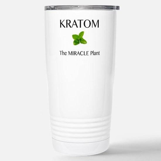 Kratom Miracle Travel Mug