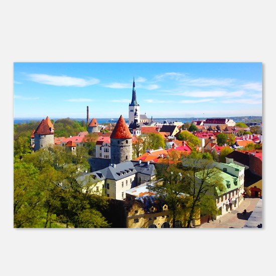 Tallinn Postcards (Package of 8)