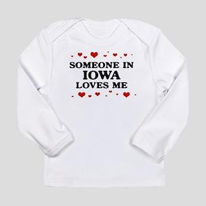 Loves Me in Iowa Long Sleeve T-Shirt