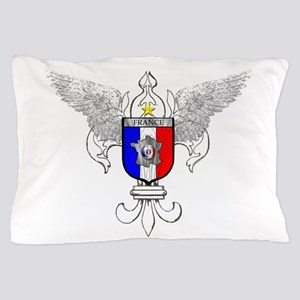 French Graphic Pillow Case