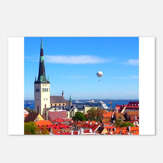 Flying Ball of the Sky Postcards (Package of 8)