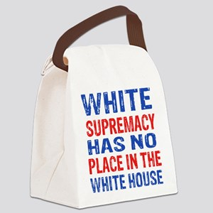 Anti Trump designs Canvas Lunch Bag