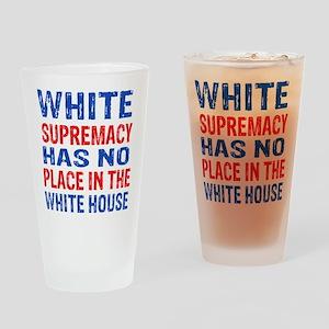 Anti Trump designs Drinking Glass