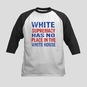 Anti Trump designs Kids Baseball Jersey