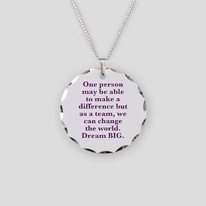 Team World Change Necklace