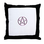 Protected In Pink Throw Pillow
