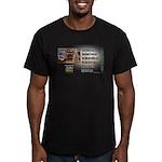 Believer Test Men's Fitted T-Shirt (dark)