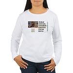 Believer Test Women's Long Sleeve T-Shirt