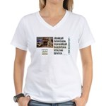 Believer Test Women's V-Neck T-Shirt
