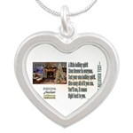 Believer Test Silver Heart Necklace