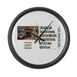 Believer Test Large Wall Clock