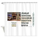 Believer Test Shower Curtain