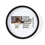 Believer Test Wall Clock