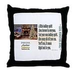 Believer Test Throw Pillow