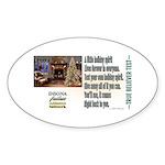 Believer Test Sticker (Oval 10 pk)
