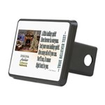 Believer Test Rectangular Hitch Cover