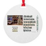 Believer Test Round Ornament