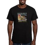 Editor HeartStab Men's Fitted T-Shirt (dark)