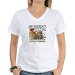 Editor HeartStab Women's V-Neck T-Shirt