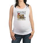 Editor HeartStab Maternity Tank Top