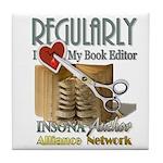 Editor HeartStab Tile Coaster
