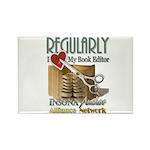 Editor HeartStab Rectangle Magnet (100 pack)