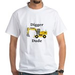 Digger Dude White T-Shirt