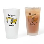 Digger Dude Drinking Glass