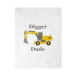 Digger Dude Twin Duvet
