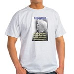Twain on Patriotism Light T-Shirt