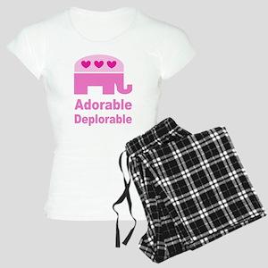 Adorable Deplorable Women's Light Pajamas