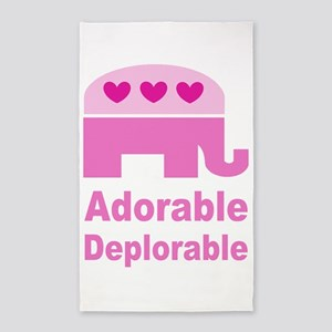 Adorable Deplorable Area Rug