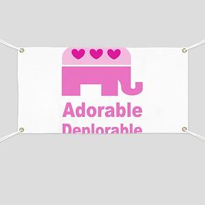 Adorable Deplorable Banner
