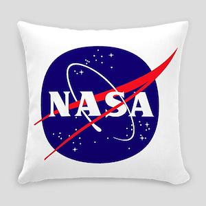 NASA Meatball Logo Everyday Pillow