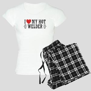 I Love My Hot Welder Women's Light Pajamas