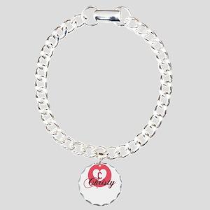 christy Charm Bracelet, One Charm