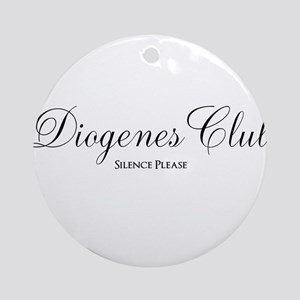 Diogenes Club Round Ornament