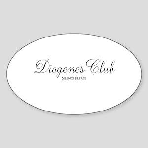 Diogenes Club Sticker