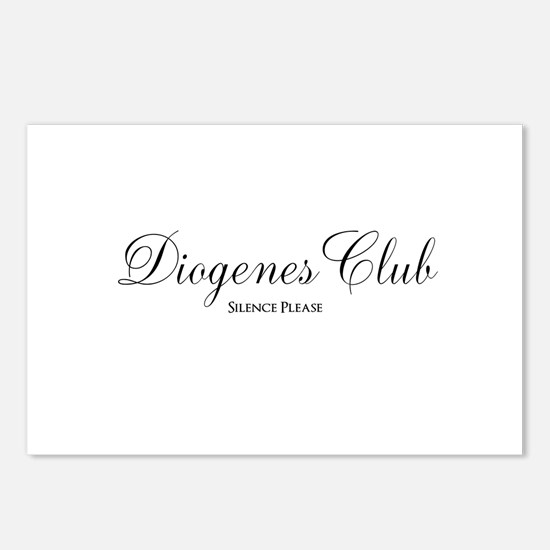 Diogenes Club Postcards (Package of 8)