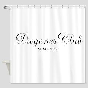 Diogenes Club Shower Curtain
