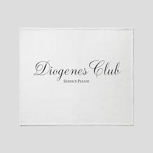 Diogenes Club Throw Blanket