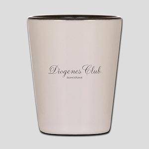 Diogenes Club Shot Glass