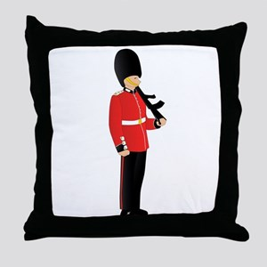 Royal Guard Throw Pillow
