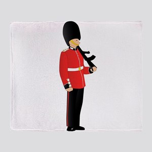 Royal Guard Throw Blanket