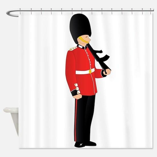 Royal Guard Shower Curtain