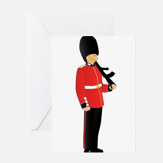 Royal Guard Greeting Cards