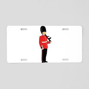 Royal Guard Aluminum License Plate