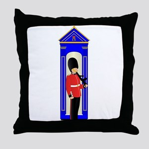 Guard Duty Throw Pillow