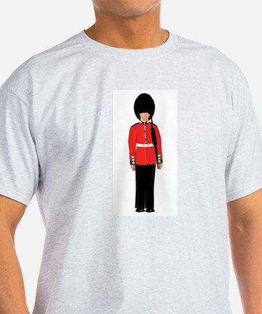 British Soldier On Guard Duty T-Shirt