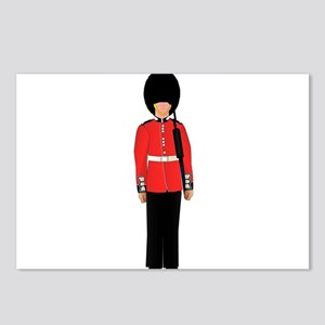 British Soldier On Guard Postcards (Package of 8)